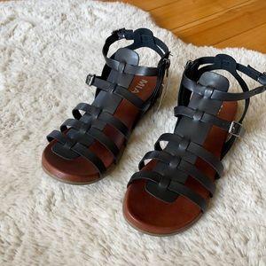 MIA Vegan Leather Gladiator Sandals, NWT!